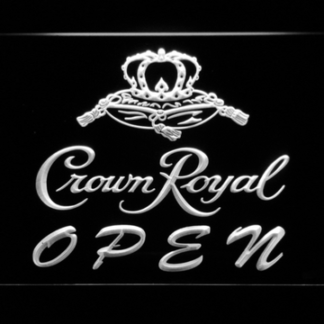 Crown Royal Open neon sign LED