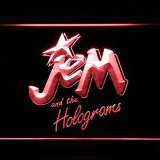Jem and the Holograms neon sign LED