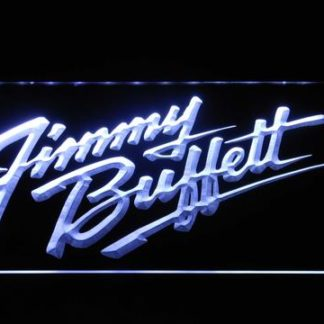 Jimmy Buffett's Script Logo neon sign LED
