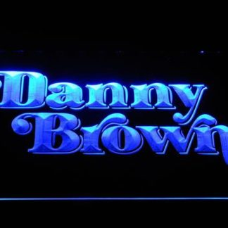 Danny Brown neon sign LED