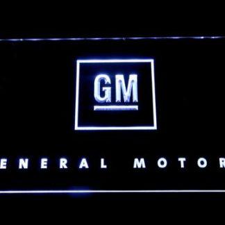 General Motors neon sign LED
