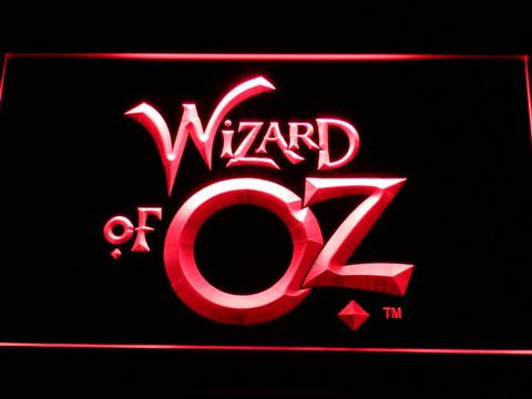 Wizard of Oz neon sign LED