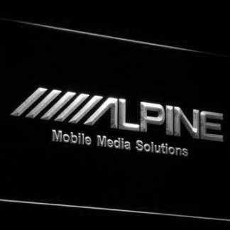 Alpine Mobile Media Solutions neon sign LED