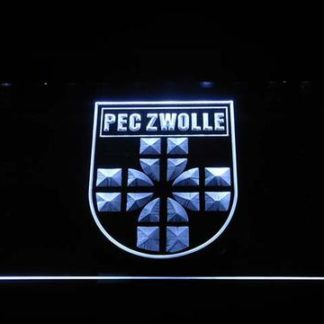 PEC Zwolle neon sign LED