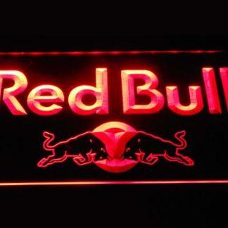 Red Bull Wordmark neon sign LED