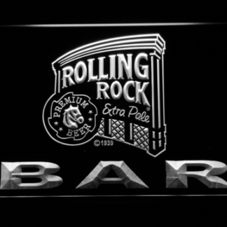 Rolling Rock Bar neon sign LED