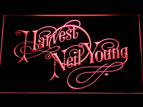 Neil Young Harvest neon sign LED