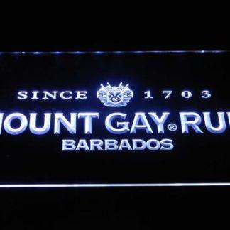 Mount Gay Rum Wordmark neon sign LED