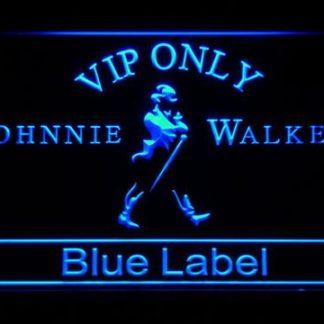 Johnnie Walker Blue Label VIP Only neon sign LED