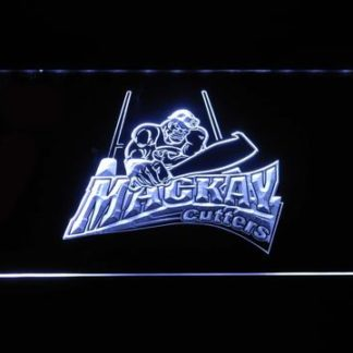 Mackay Cutters neon sign LED