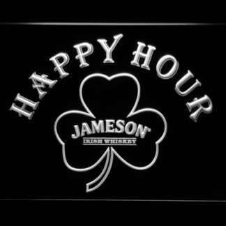 Jameson Shamrock Happy Hour neon sign LED