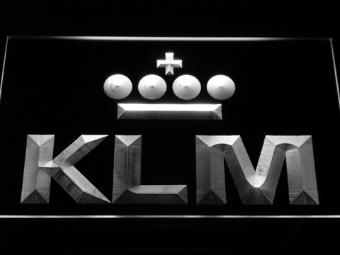 KLM neon sign LED