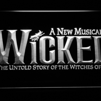 Wicked The Musical neon sign LED