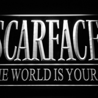 Scarface The World is Yours neon sign LED