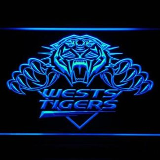 Wests Tigers neon sign LED