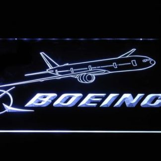 Boeing neon sign LED