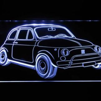 Fiat 500 neon sign LED