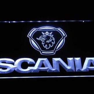Scania Wordmark neon sign LED