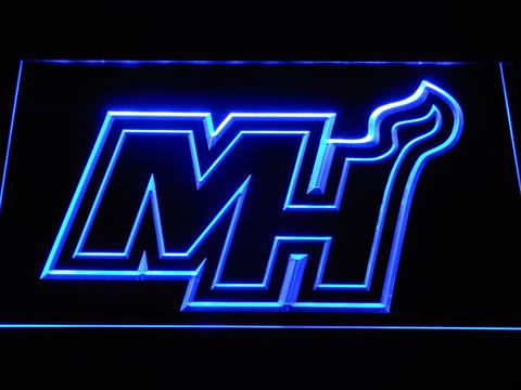 Miami Heat MH neon sign LED