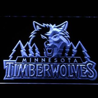 Minnesota Timberwolves neon sign LED