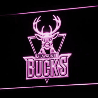 Milwaukee Bucks neon sign LED
