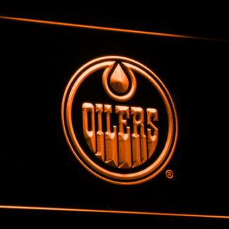 Edmonton Oilers neon sign LED