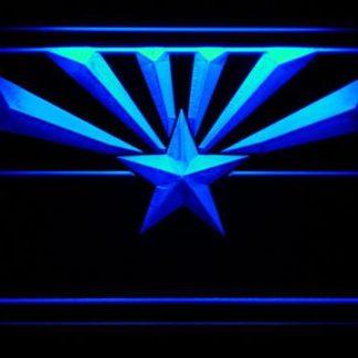 Arizona Cardinals Flag neon sign LED
