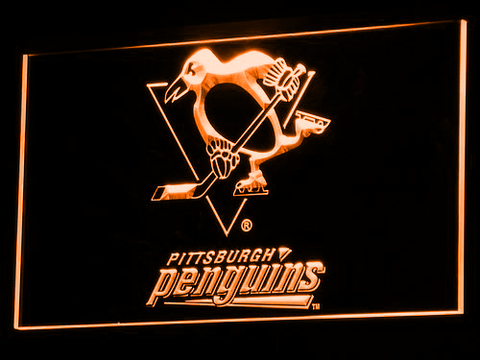 Pittsburgh Penguins neon sign LED