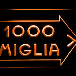 Mille Miglia Racing neon sign LED