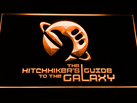 The Hitchhiker's Guide To The Galaxy neon sign LED