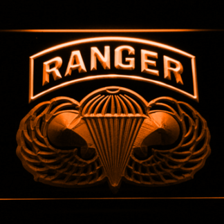 US Army Airborne Ranger neon sign LED