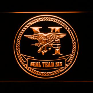 US Navy SEAL Team 6 Serif neon sign LED