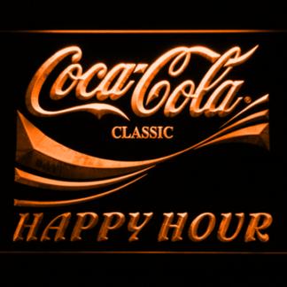 Coca-Cola Happy Hour neon sign LED