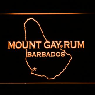 Mount Gay Rum Barbados neon sign LED