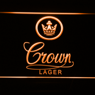 Crown Lager neon sign LED
