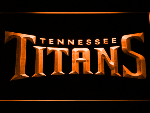 Tennessee Titans 1 neon sign LED