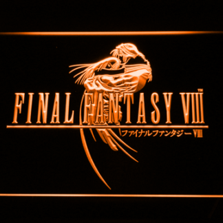 Final Fantasy VIII neon sign LED