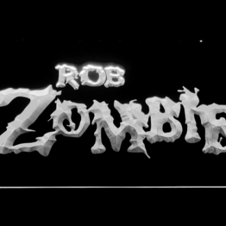 Rob Zombie neon sign LED