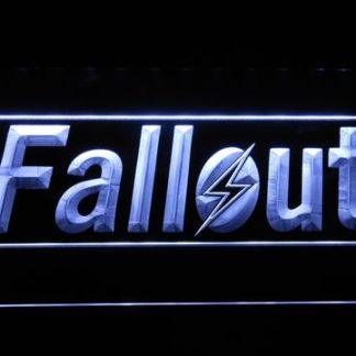 Fallout neon sign LED