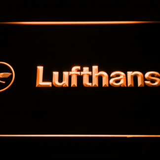Lufthansa neon sign LED