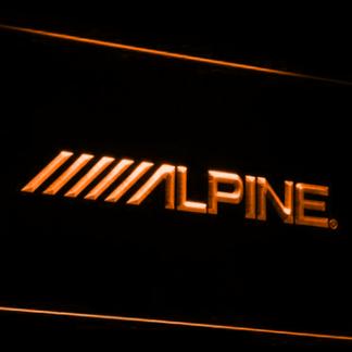 Alpine neon sign LED