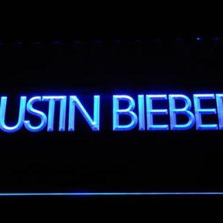 Justin Bieber neon sign LED