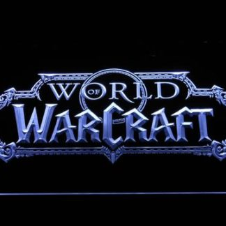 World of Warcraft neon sign LED
