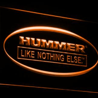 Hummer Like Nothing Else neon sign LED