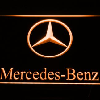 Mercedes Benz neon sign LED