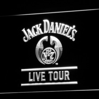 Jack Daniel's Live Tour neon sign LED