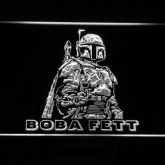 Star Wars Boba Fett neon sign LED