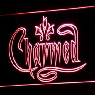 Charmed neon sign LED