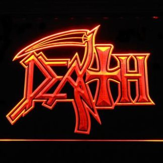 Death Logo neon sign LED