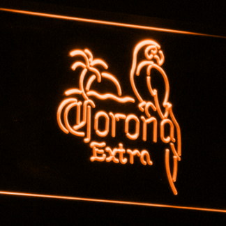 Corona Extra - Parrot neon sign LED